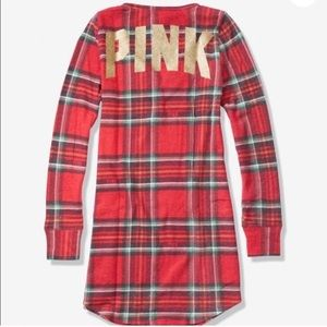 PINK Victoria's Secret Intimates & Sleepwear - Vs Pink Cozy Sleep Dress Pajama S